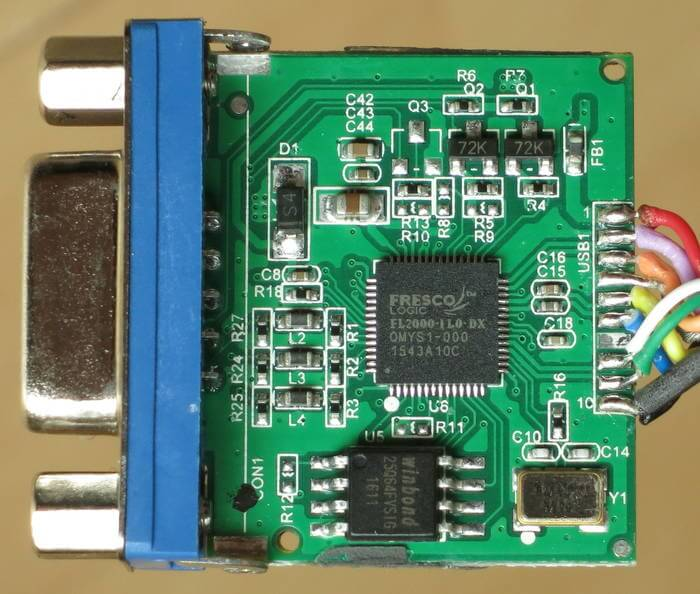 Osmo-FL2K: A TX-Only SDR Hacked From Commodity $5 USB to VGA