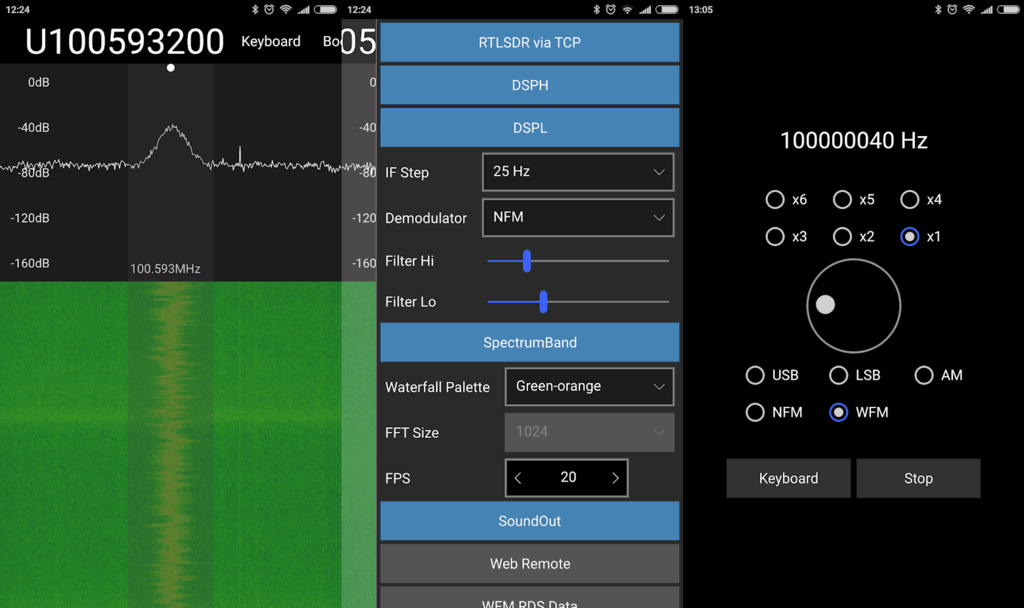 QuestaSDR - New RTL-SDR Compatible Android App