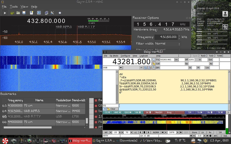 Reprogramming Vaisala RS-41 Radiosondes to Transmit APRS