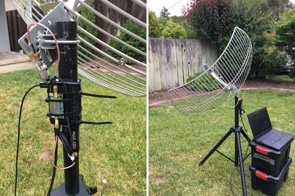 Building A Low Cost GOES Weather Satellite Receiver with an