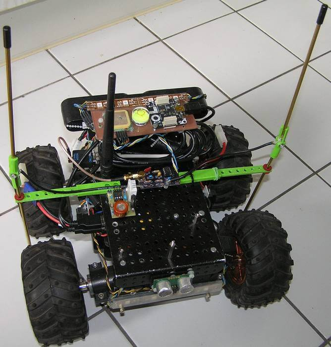 Humpelstilzchen's RF direction finding robot