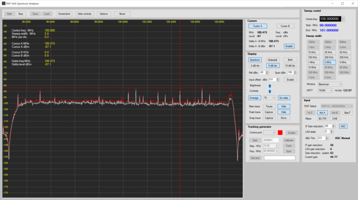 SDRplay Spectrum Analyzer Alpha
