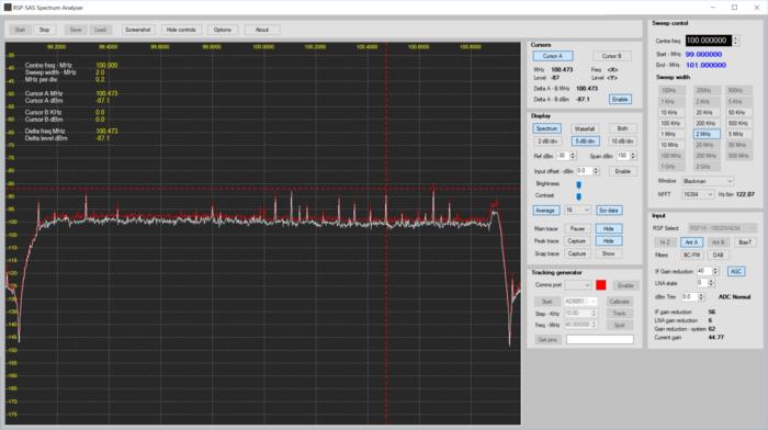 SDRplay Spectrum Analyzer Alpha