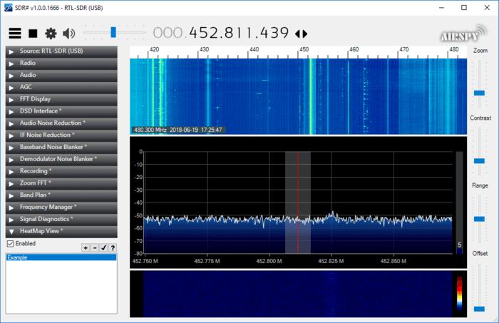SDRSharp RTL-SDR Heatmap Plugin