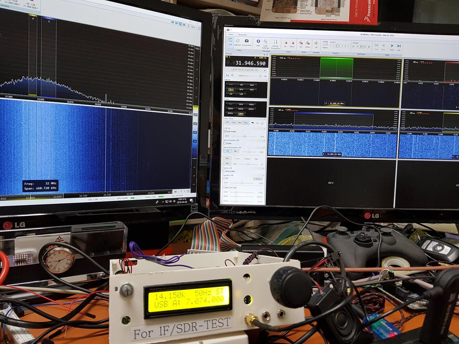 uBITX with RTL-SDR Panadapter