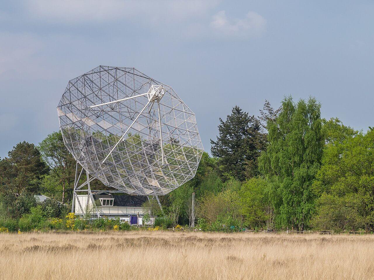 Dwingleloo Satellite Antenna in the Netherlands