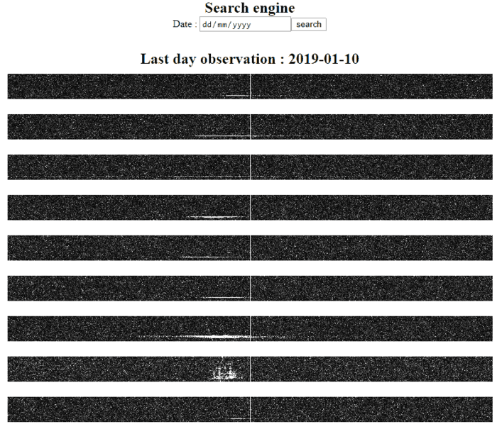 Some Meteor Scatter Logs by Florent