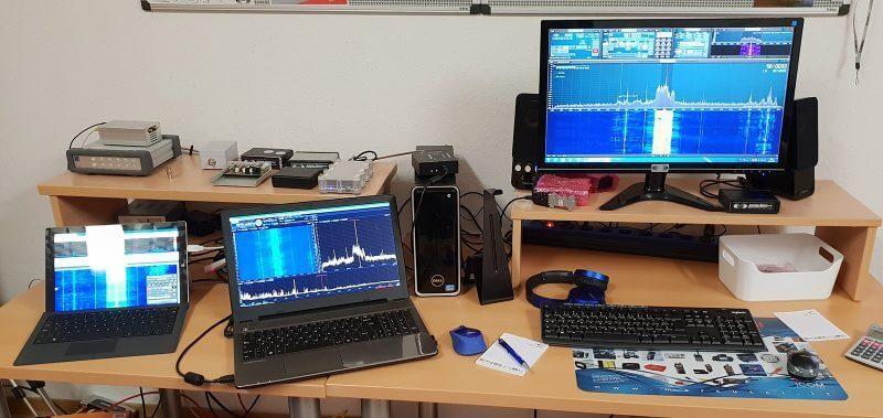 Bonito RSPduo Antenna Test Setup