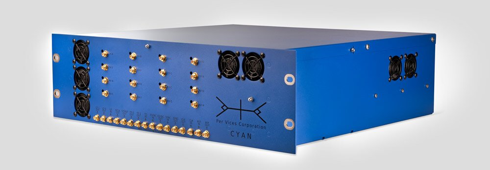 Per Vices Cyan High End Software Defined Radio