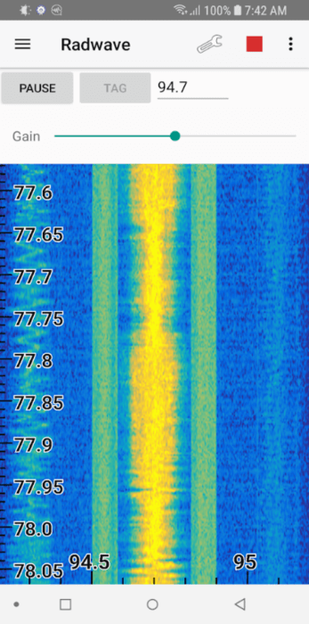 Radwave Screenshot