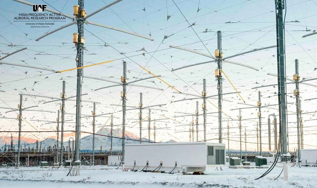 HAARP (High Frequency Active Auroral Research Program)