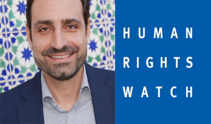 Human Rights Watch Denounces the arrest of Moncef Kartas