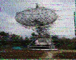 An EME SSTV Image