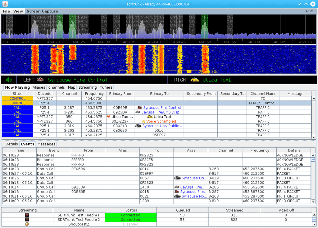 SDRTrunk Screenshot