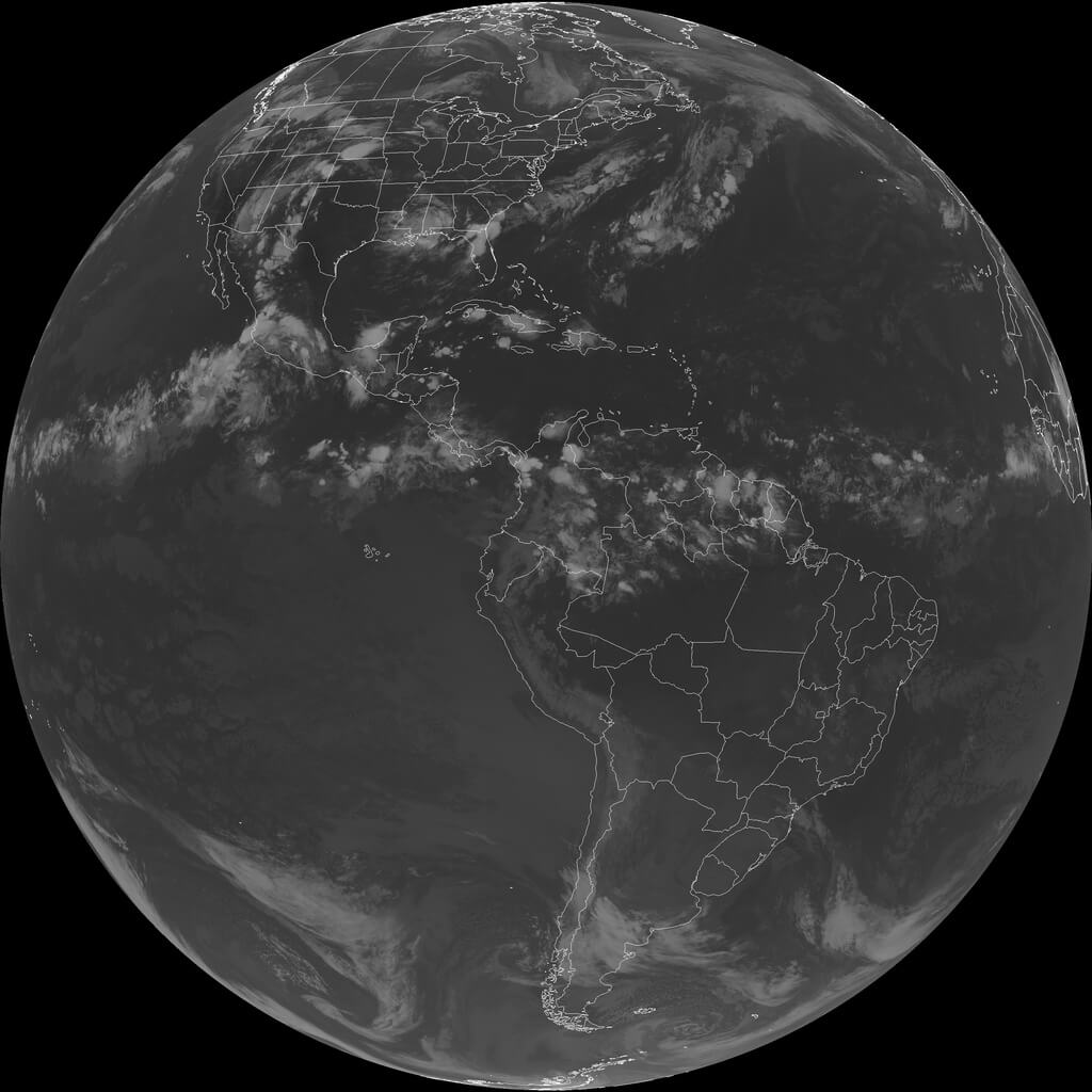 GOES 16 Full Disk Relay received from GOES 17