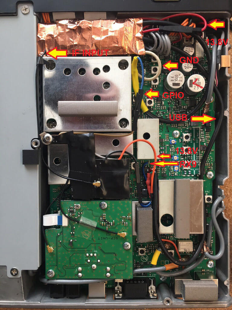 FT991A Converted into an SDR.