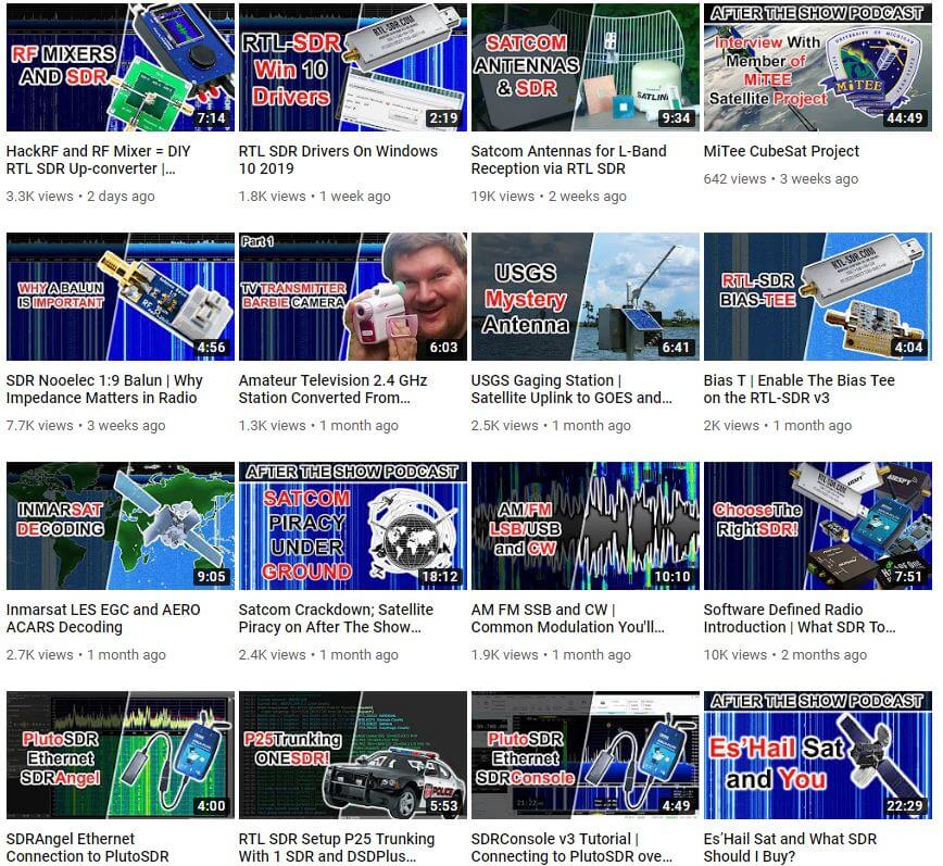 Some Recent SignalsEverywhere YouTube Videos
