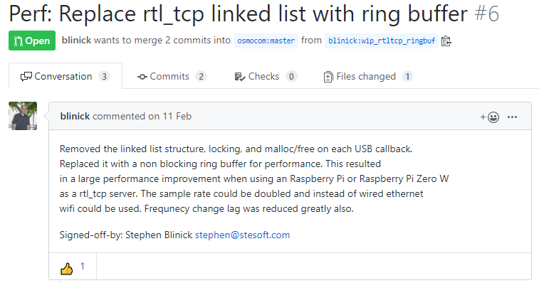 Ring Buffer Patch for rtl_tcp