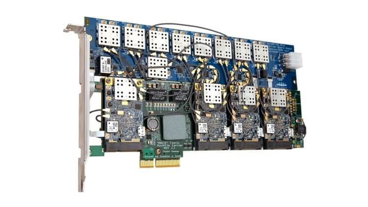 The XSYNC Massively MIMO SDR with up to 32x32 TX/RX Channels