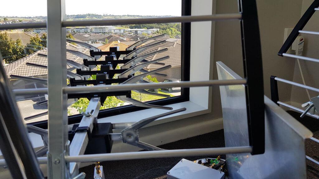 Surveillance Antenna View