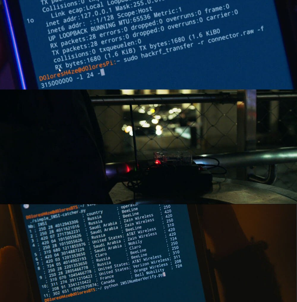HackRF Used on Mr Robot