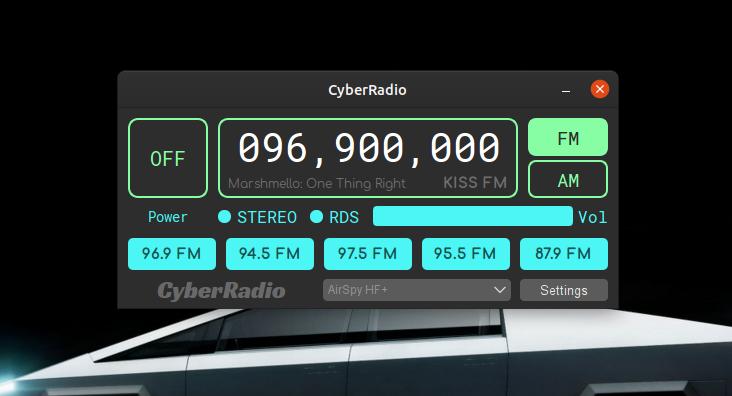 CyberRadio Screenshot