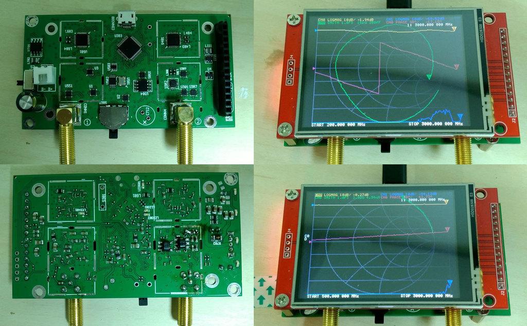 NanoVNA V2.0 PCB Photos