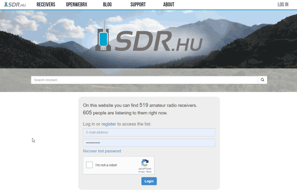 SDR.HU Requires a Login Now