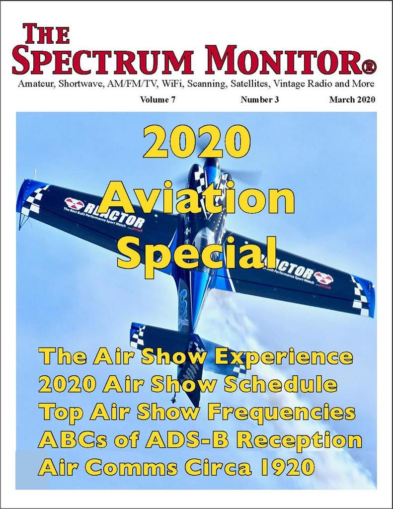 The Spectrum Monitor: 2020 Aviation Edition