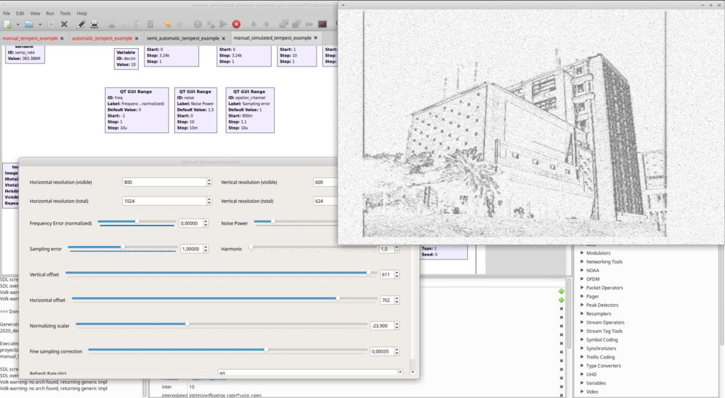 GR-TEMPEST: GNU Radio TEMPEST Implementation