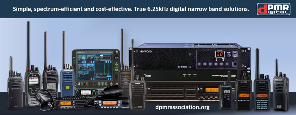 dPMR radios, data stations and repeater hardware.