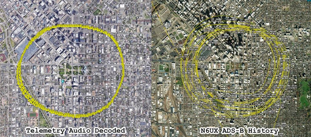 News helicopter telemetry audio vs ADS-B history