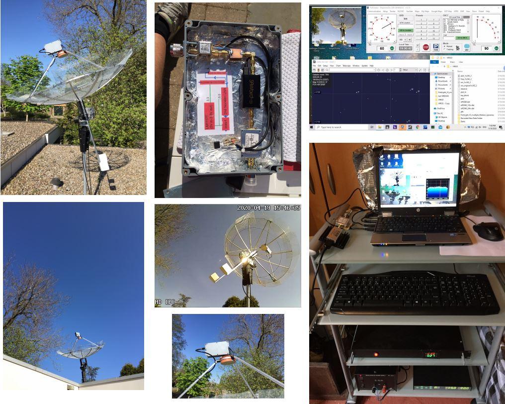 Job Geheniau's Radio Telescope Setup